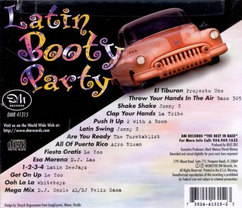 Latin Booty Party