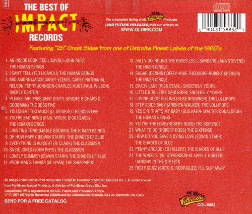The Best of Impact Records