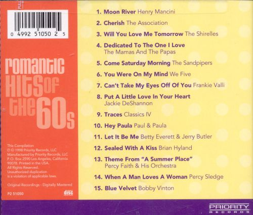 Chart Toppers: Romantic Hits of the 60s