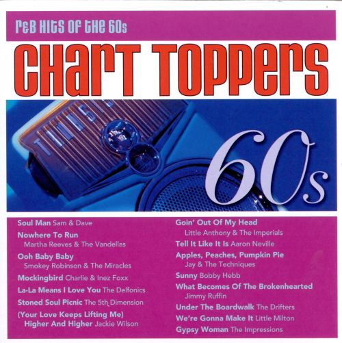 Chart Toppers: R&B Hits of the 60s