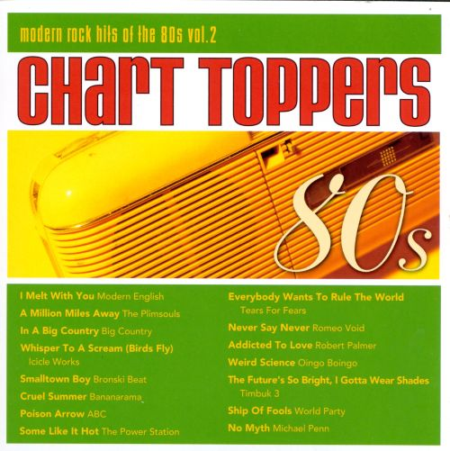 Chart Toppers: Modern Rock Hits of the 80s, Vol. 2