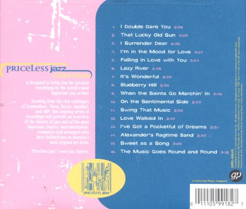 Priceless Jazz: More Louis Armstrong