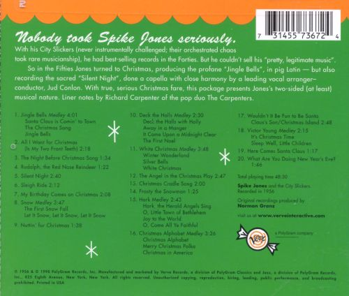 Let's Sing a Song of Christmas - Spike Jones   Songs, Reviews ...