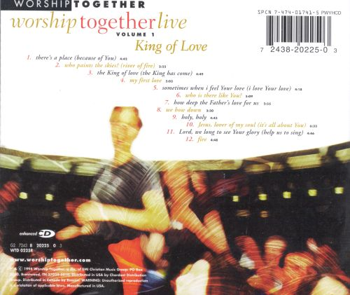 Worship Together Live, Vol. 1: King of Love