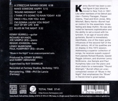 39 round midnight kenny burrell songs reviews credits allmusic. Black Bedroom Furniture Sets. Home Design Ideas