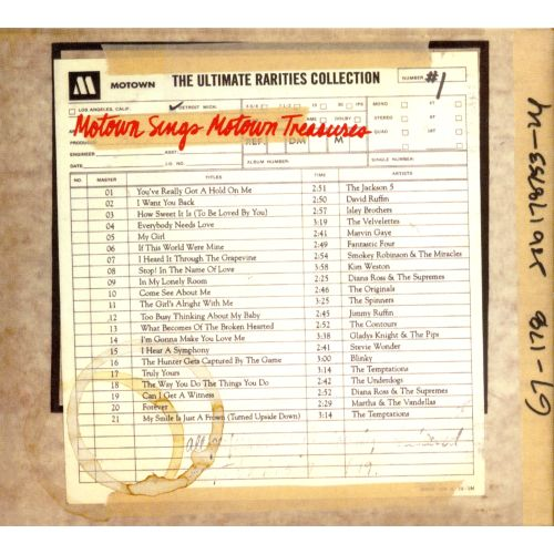 Ultimate Motown Rarities Collection, Vol. 1