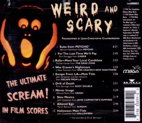 Weird and Scary: Ultimate Scream in Film Scores