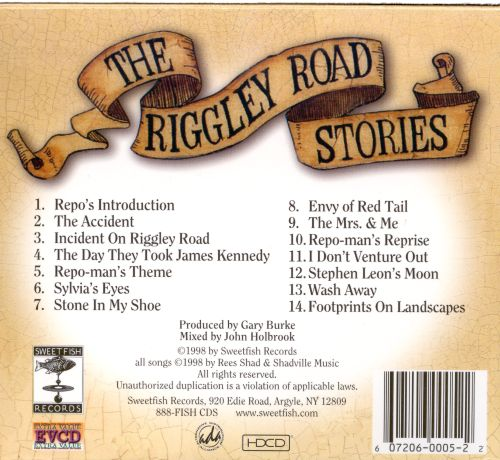 Riggley Road Stories