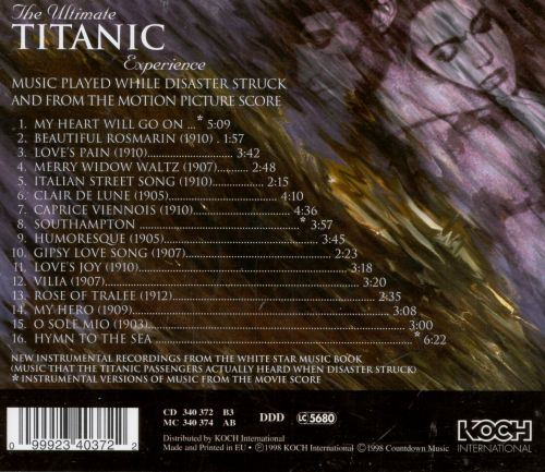 Titanic: Themes from the Movie & the Early Century