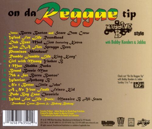 On Da Reggae Tip: Massive B Style