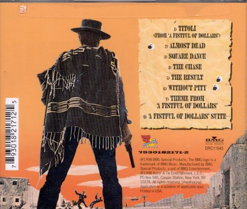 A Fistful of Dollars [Original Soundtrack]