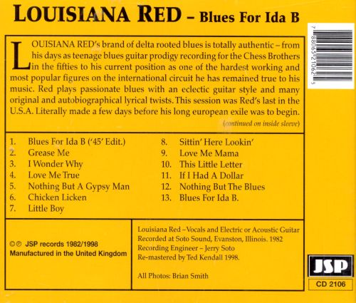 Blues for Ida B