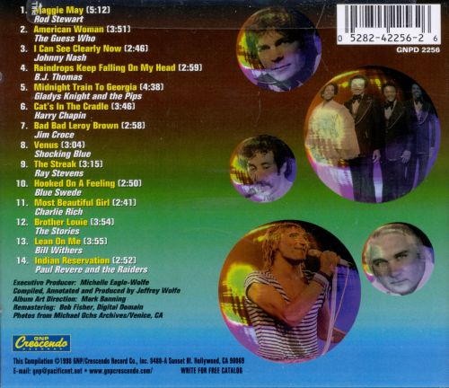 #1 Hits of 1970-1974