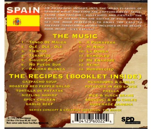 Nomadic Chef: Music & Recipes of Spain