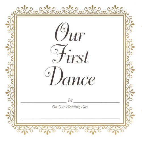 Our First Dance [CD/Cassette]