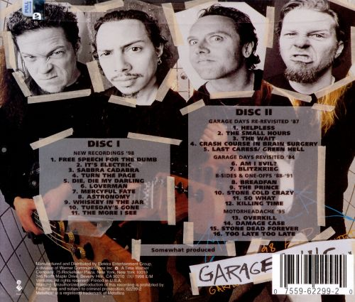By Incorporated: Garage, Inc. - Metallica