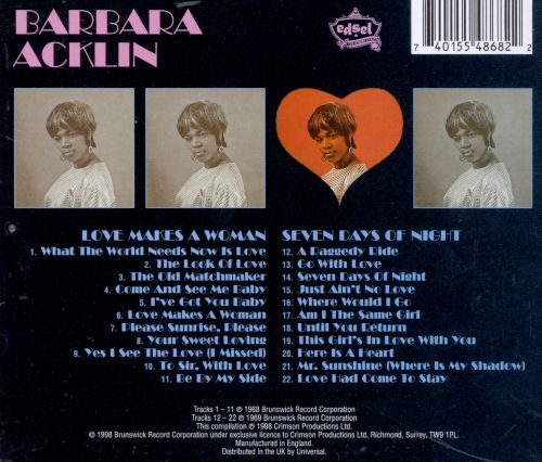 Love Makes a Woman/Seven Days of Night