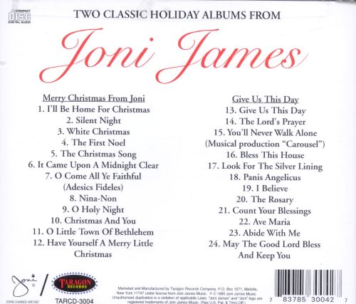 Merry Christmas from Joni/Give Us This Day