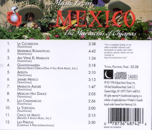 Music from Mexico [Eclipse]