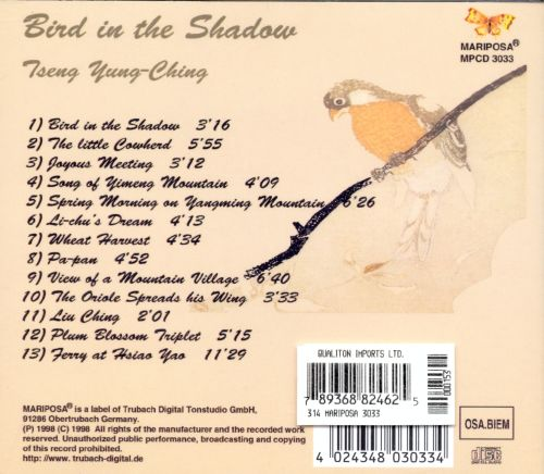 Bird in the Shadow: Traditional Chinese Flute