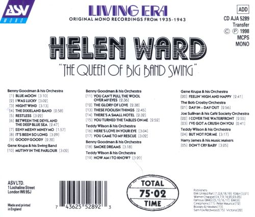 The Queen of Big Band Swing [Living Era]