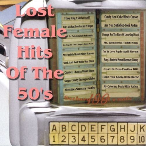Lost Female Hits of the 50's