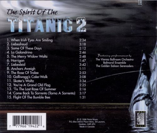 spirit of the titanic vol 2 various artists songs reviews credits allmusic. Black Bedroom Furniture Sets. Home Design Ideas