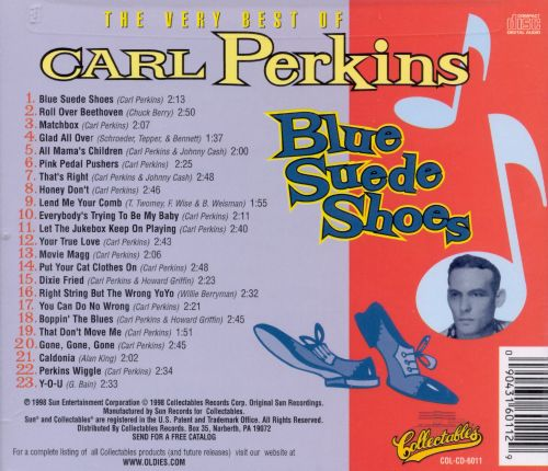 Blue Suede Shoes: The Very Best of Carl Perkins