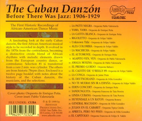 The Cuban Danzón