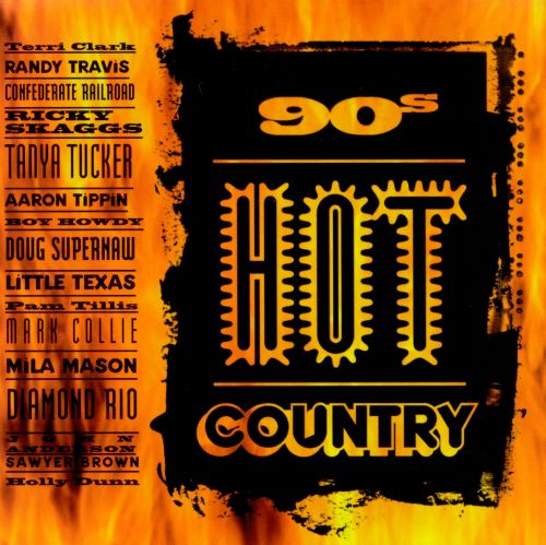 90's Hot Country, Vol. 1