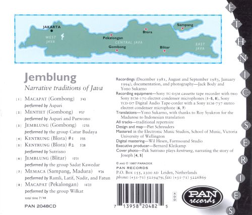 Jemblung and Related Narrative Traditions of Java