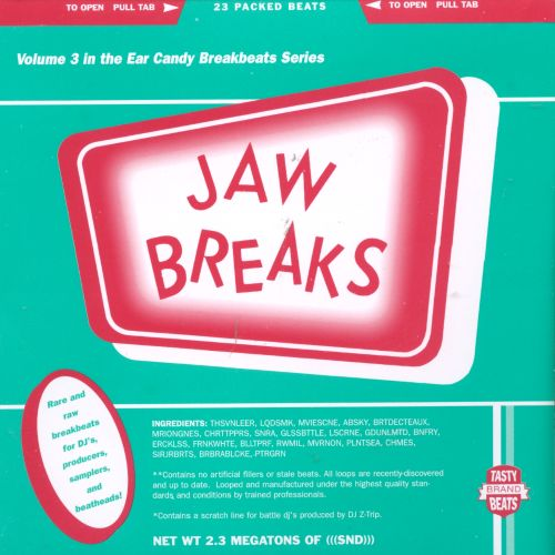 Jaw Breaks (Ear Candy Series, Vol. 3): Say No! To Drugs
