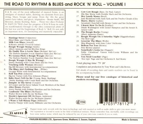 Road to Rhythm & Blues & Rock N' Roll, Vol. 1