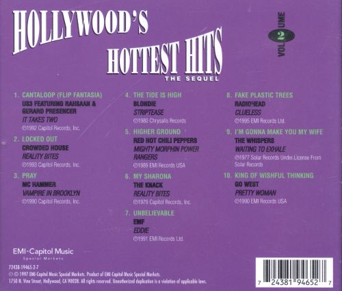 Hollywood's Hottest Hits, Vol. 2