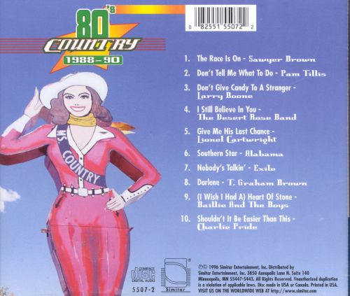 80's Country: 1988-1990