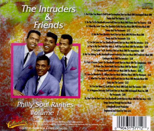 Philly Soul Rarities, Vol. 1