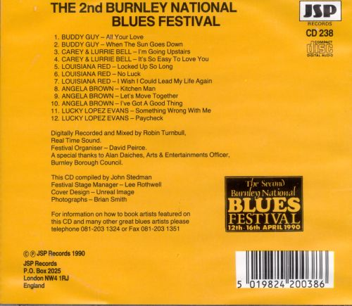 Second Burnley National Blues Festival April 1990