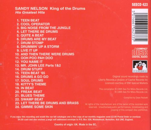 King of the Drums: His Greatest Hits