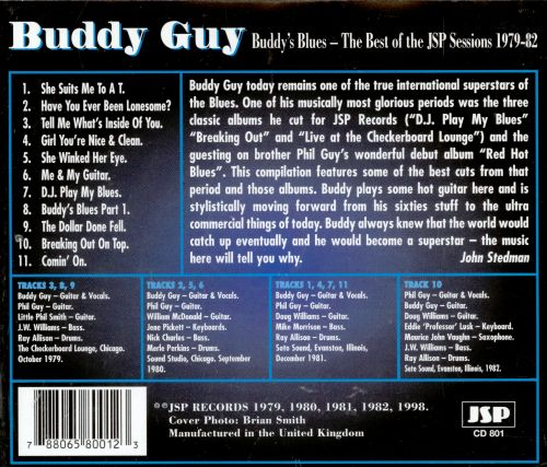 Buddy's Blues: The Best of the JSP Sessions