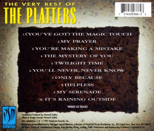 The Very Best of the Platters [PolyGram Special Market]