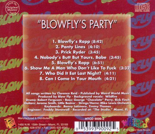 Blowfly's Party [X-Rated]
