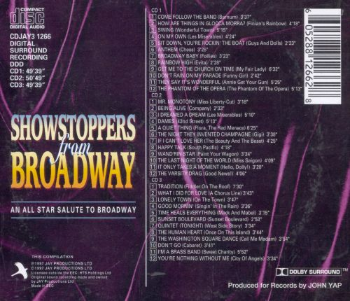Showstoppers from Broadway