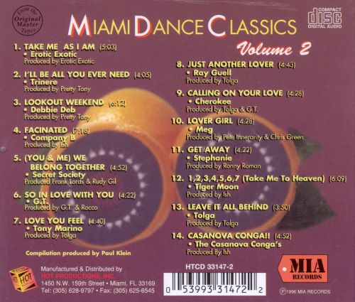 Miami Dance Classics, Vol. 2: Facinated