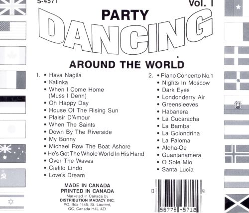 Party Dancing Around the World