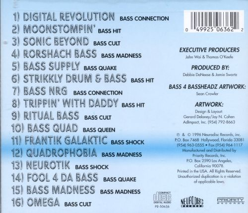 Bass 4 Bassheadz, Vol. 4: Platinum Bass Collection