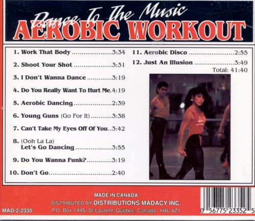 Dance to the Music: Aerobic Workout
