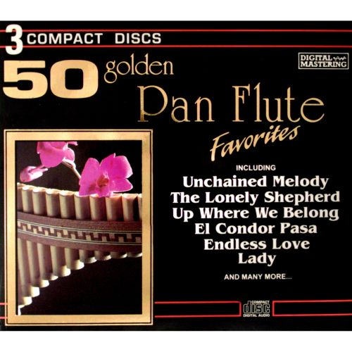 cd golden panflute