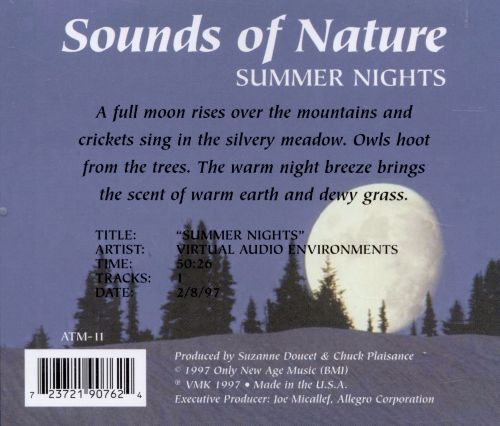 Sounds of Nature: Summer Nights