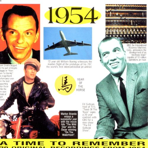 1954: A Time to Remember, 20 Original Chart Hits