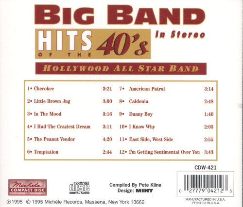 Big Band Hits of the 40's in Stereo